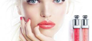Modelo holandês brilha em nova campanha Dior Addict Gloss