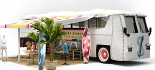 Tommy Hilfiger transforma ônibus em loja cápsula