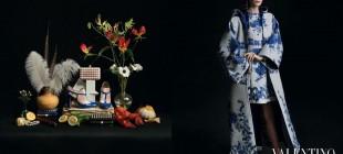 A campanha do inverno 2014 da Valentino tem inspiração nas pinturas clássicas