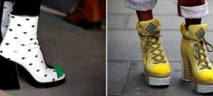 Sapatos Engraçados